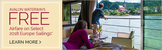 Avalon Waterways Savings Coupon