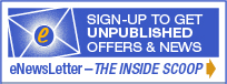Sign up for the INSIDE SCOOP eNewsletter