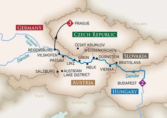 Salzburg Christmas Market Map.Amawaterways River Cruises 11 Day Christmas Markets On The