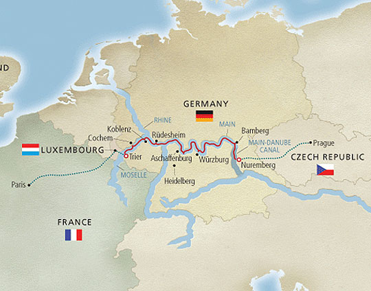 Viking River Cruises 12 Day Cities Of Light Itinerary